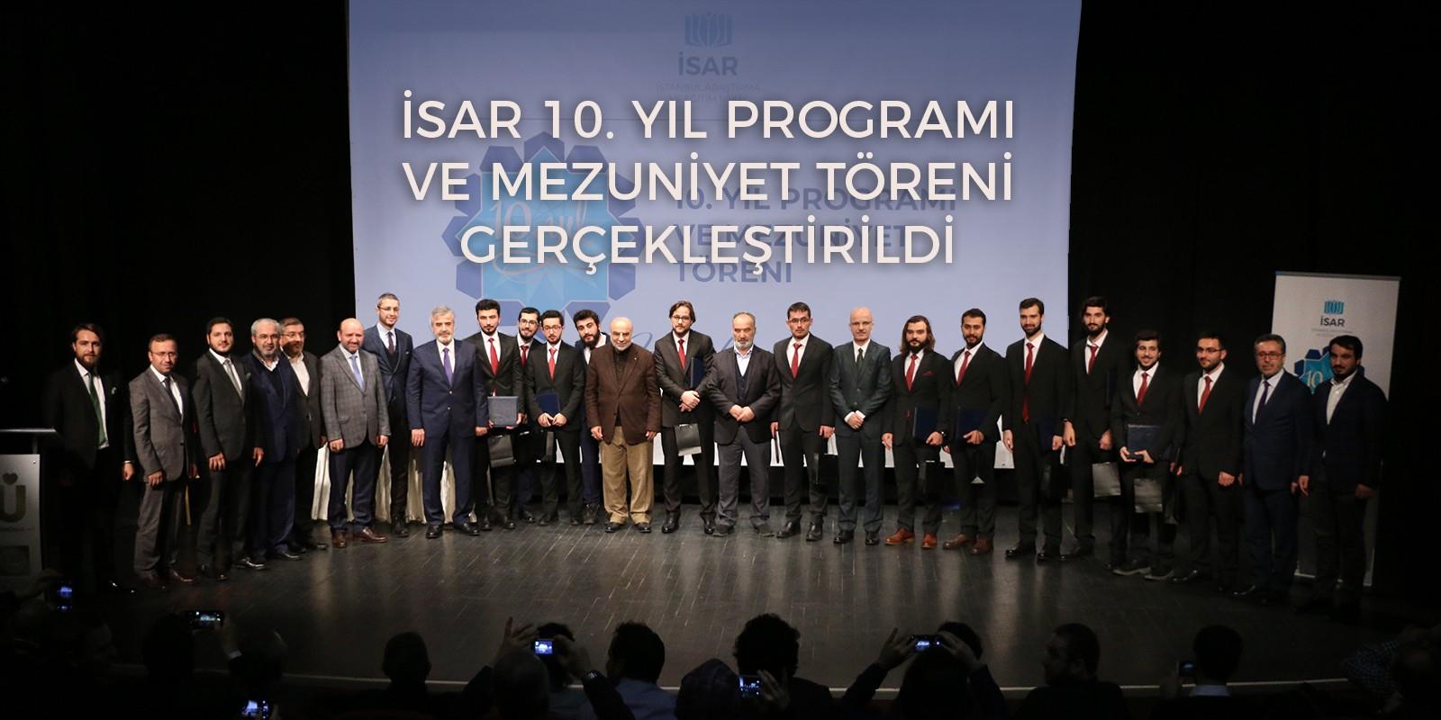 İSAR 10. Yıl Programı ve Mezuniyet Töreni Gerçekleştirildi